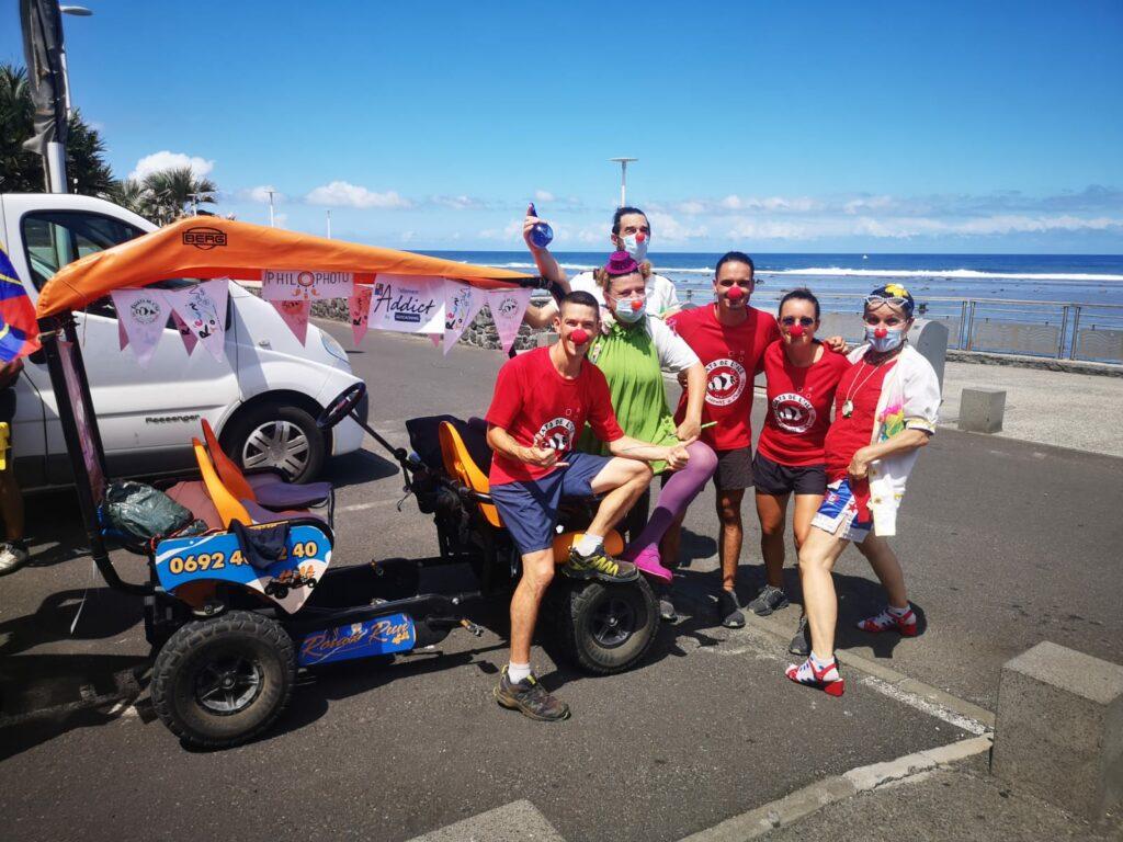 Carnet de voyage : Un pompier d'Epinay-Sous-Sénart fait le tour de La Réunion en rosalie 67