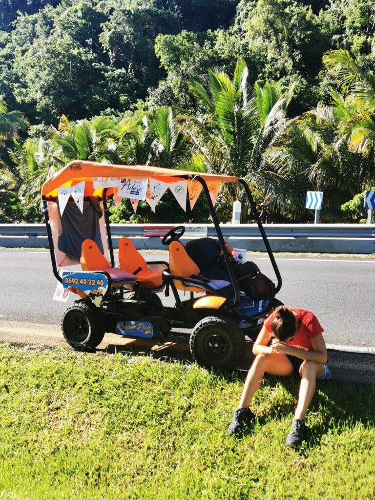 Carnet de voyage : Un pompier d'Epinay-Sous-Sénart fait le tour de La Réunion en rosalie 38