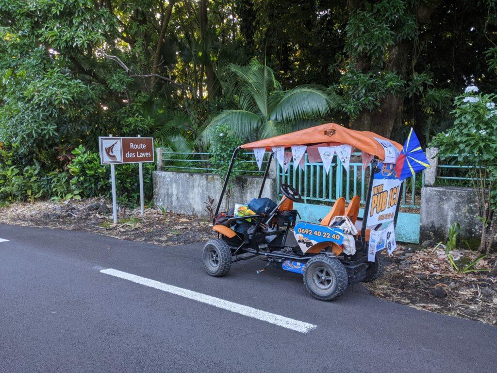 Carnet de voyage : Un pompier d'Epinay-Sous-Sénart fait le tour de La Réunion en rosalie 26