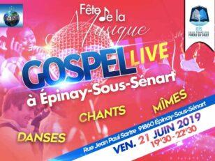 Gospel live pour la Fête de la Musique 11