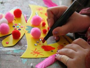 Ateliers créatifs de préparation du carnaval 6