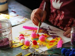 Ateliers créatifs de préparation du carnaval 4