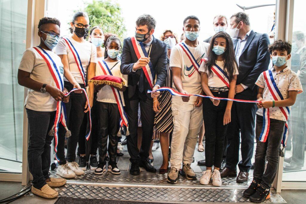 Inauguration du CSC et signature la convention du NPNRU La Plaine 7