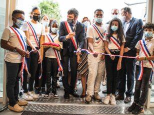 Inauguration du CSC et signature la convention du NPNRU La Plaine 21