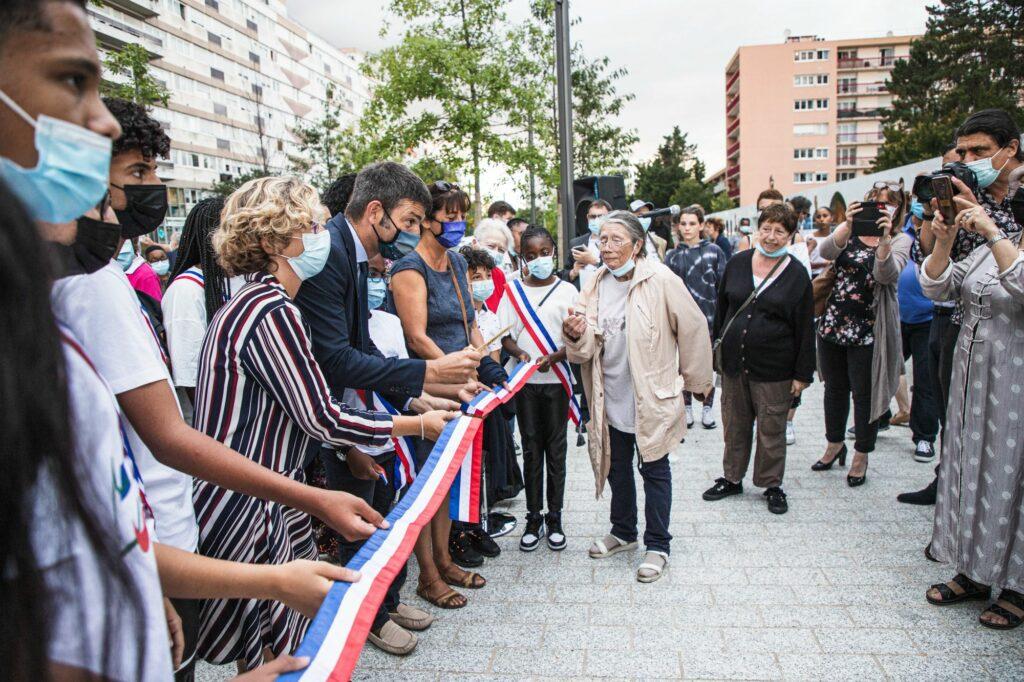 Inauguration du CSC et signature la convention du NPNRU La Plaine 16
