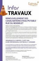 Rue du Boisselet - Renouvellement des canalisations d'eau potable - août 2020 13