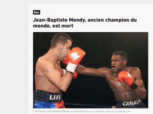 Disparition de Jean-Baptiste MENDY : un hommage à 21h30 ce soir, place des Cinéastes 5