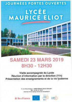 Portes ouvertes au lycée Maurice Eliot 1