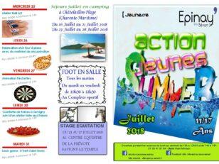 Découvrez le programme des vacances d'été d'Actions Jeunes 15