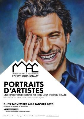 """Portraits d'artistes"" par Jean-Loup OTHENIN-GIRARD 1"