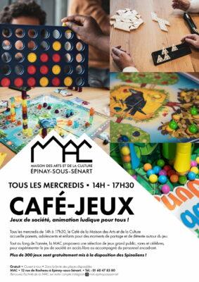 Café-Jeux tous les mercredis à la MAC 1