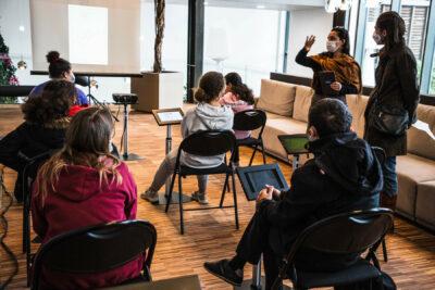 Scolaire : Réservation en ligne aux ateliers Micro-Folies 1