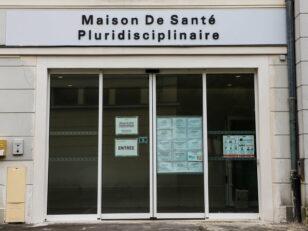Travaux de rénovation de l'entrée de la Maison de Santé pluridisciplinaire 167