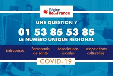 Covid-19 : La Région Île-de-France lance un plan d'urgence pour les entreprises 1