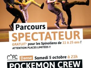 Pockemon Crew : 20 places offertes aux jeunes Spinoliens 6