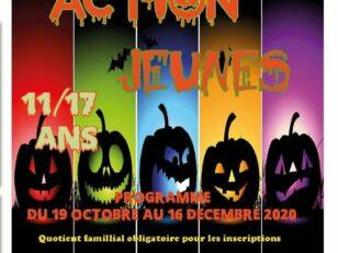 Action Jeunes : Ouverture des inscriptions ce samedi 10 octobre 2020 1