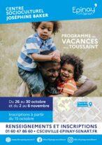 Programme activités CSC Vacances toussaint 9