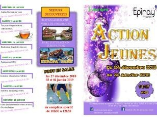 Programme des activités proposées par Action Jeunes 18