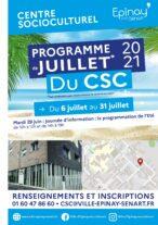 Programme été 2021 du CSC 18