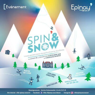 """Spin and Snow 2018 : à 16h spectacle """"Amadora, la gardienne des contes"""" 1"""