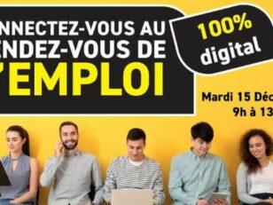 Connectez-vous au rendez-vous de l'emploi, 100% digital 5