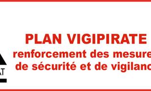 Plan Vigipirate renforcé 14