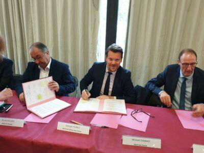 Signature de la Charte de relogement dans le cadre des projets de renouvellement urbain 1