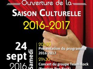 Ouverture de la Saison Culturelle 2016/2017 14