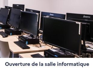 Dès le 28 décembre, ouverture de la salle informatique de la MAC du lundi au jeudi 1
