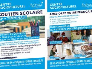 CSC : Ateliers de soutien scolaire et de français 50