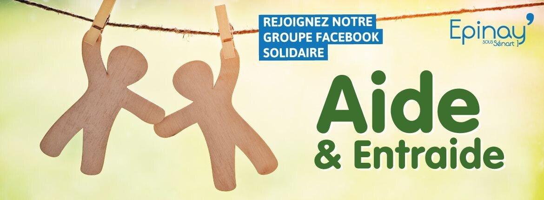 Groupe Facebook : Epinay-sous-Sénart «Aide et entraide»