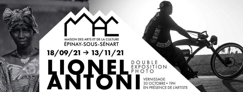 Double exposition photo de Lionel Antoni