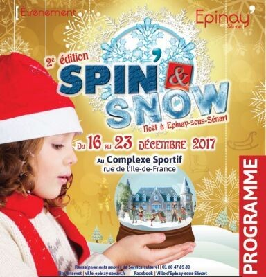 Spin and Snow, saison 2 - Le programme ! 1