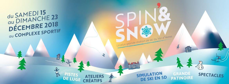 Spin'& Snow : La station de sports d'hiver vous accueille les 15-16 et 22-23 décembre