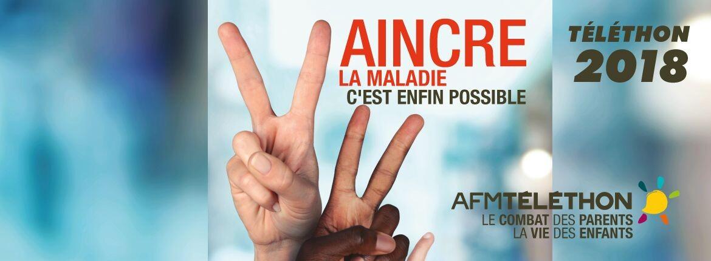Téléthon 2018 : Tous mobilisés !