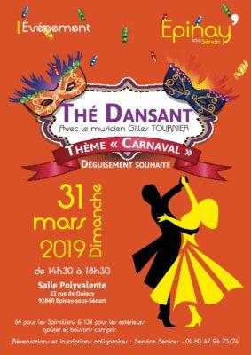 Thé dansant sur le thème du carnaval 1