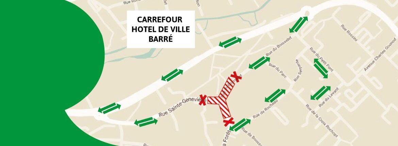 Travaux rue Ste-Geneviève