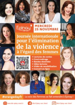 Journée pour l'élimination de la violence à l'égard des femmes : La voix des femmes se fait entendre à Epinay ! 1