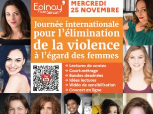 Journée pour l'élimination de la violence à l'égard des femmes : La voix des femmes se fait entendre à Epinay ! 4