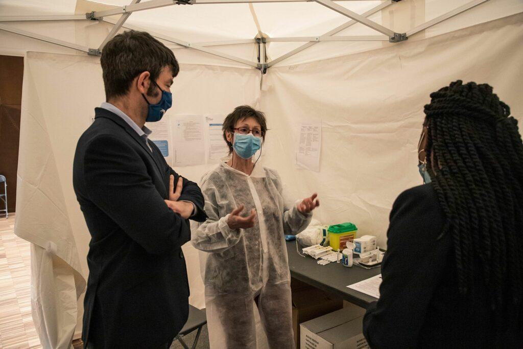 Lancement de la vaccination à Epinay-Sous-Sénart 4