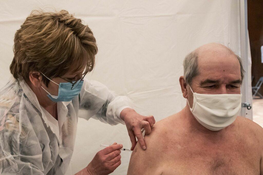 Lancement de la vaccination à Epinay-Sous-Sénart 5