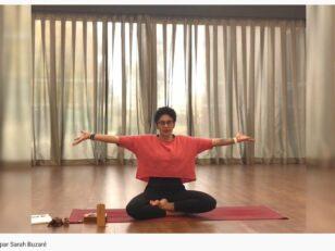 Yoga avec Sarah Buzaré 1